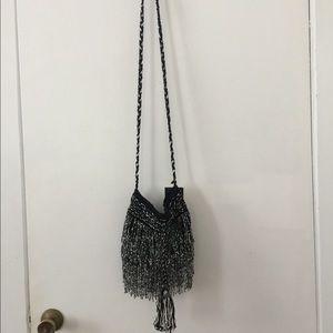 Zara beaded crossbody/shoulder bag